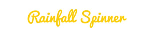 Rainfall Spinner