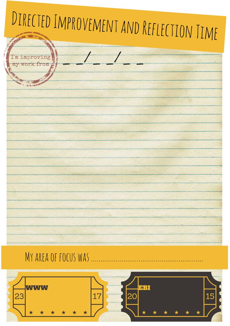 Resource – DIRT Sheets | Mrs Humanities