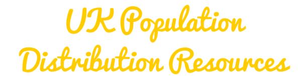UK Population Distribution Resources