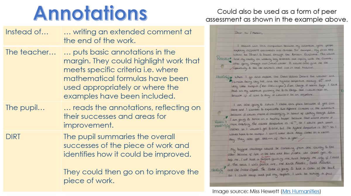 annotation marking DIRT