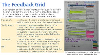 feedback grid DIRT