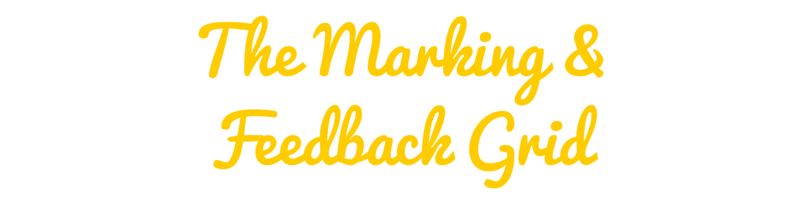 Marking and feedback grids