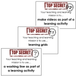 teaching and learning secret missions