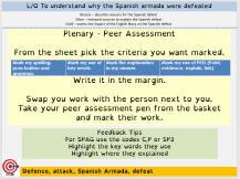 peer assessment