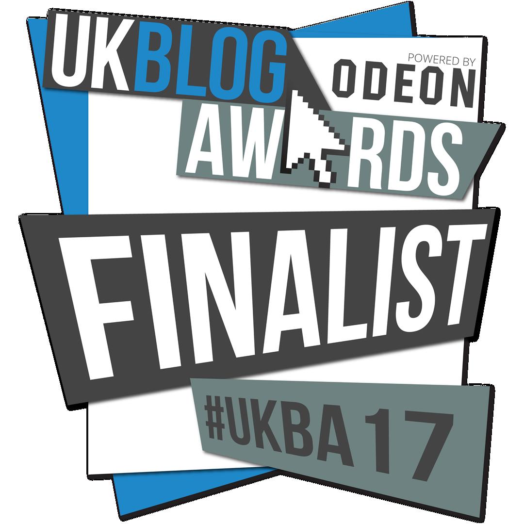 I'm a #UKBA17 Finalist