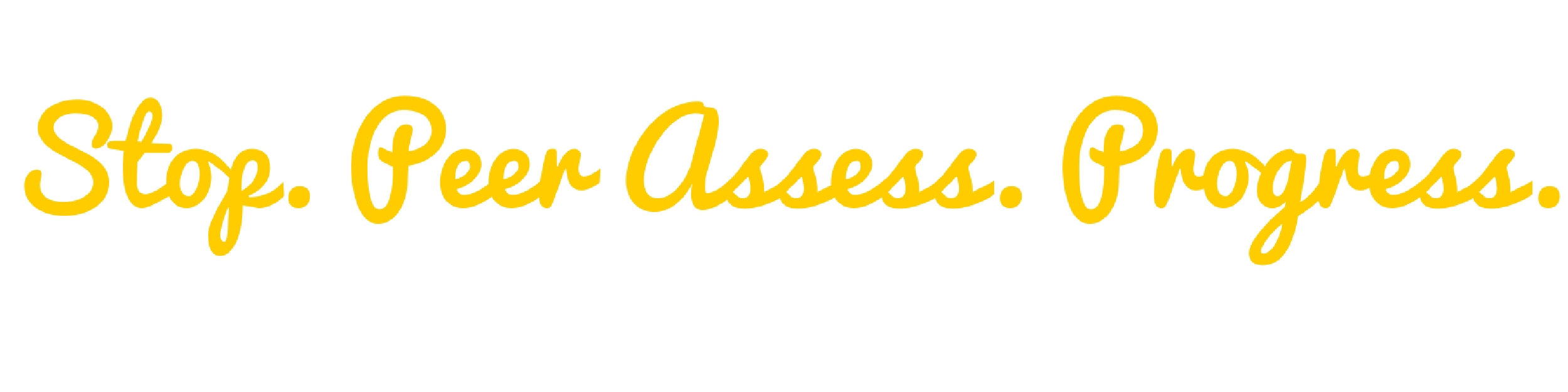 stop peer assess progress