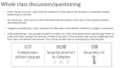 Resource – Differentiation Strategies CPD | Mrs Humanities