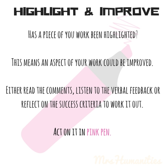 highlight and improve