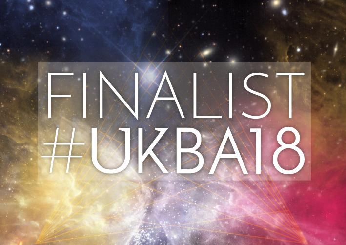 UK blog awards finalist