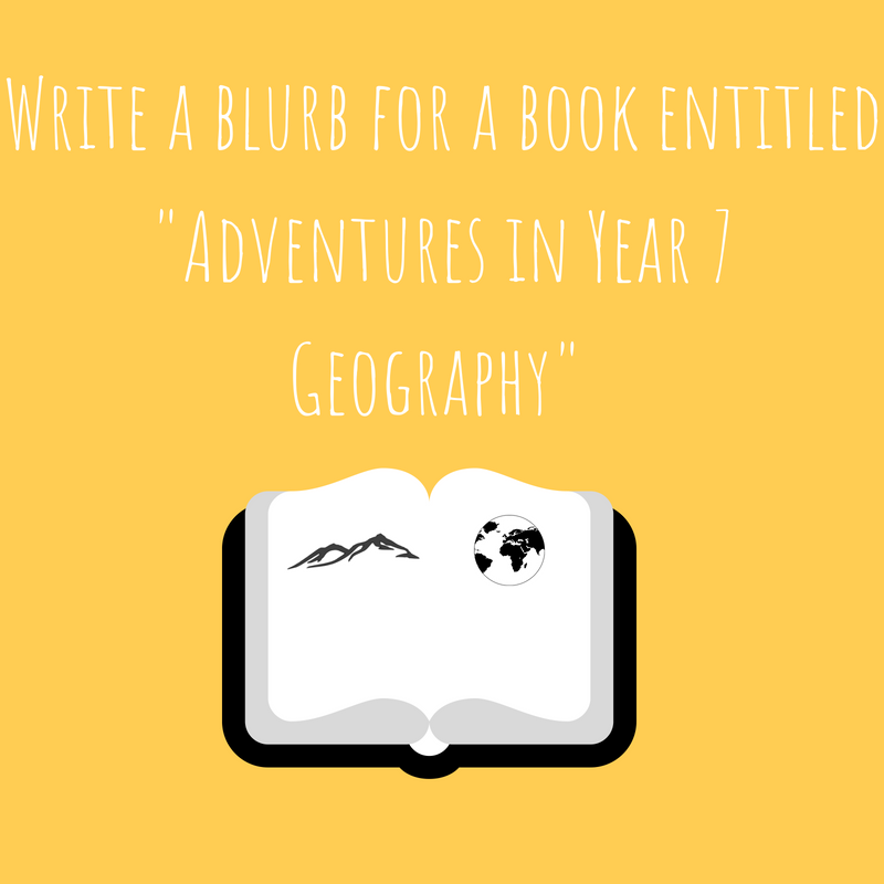 Write a blurb for a book entitled