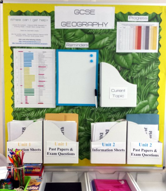 GCSE display
